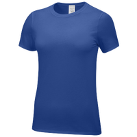 Nike Team Core SS Tee - Women's - Blue / Blue