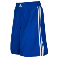 adidas Grappling Shorts - Men's - Light Blue / White