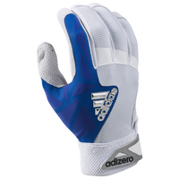 adidas EQT adiZero Batting Gloves - Men's - White / Blue