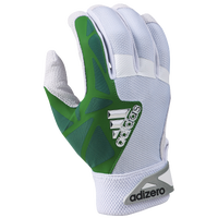 adidas EQT adiZero Batting Gloves - Men's - White / Green