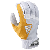 adidas EQT adiZero Batting Gloves - Men's - White / Gold