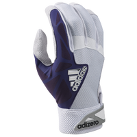 adidas EQT adiZero Batting Gloves - Men's - White / Purple