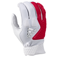 adidas EQT Guardian Batting Gloves - Men's - White / Red