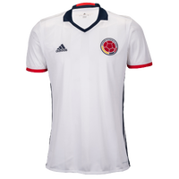 adidas Home Jersey - Men's - Colombia - White / Navy