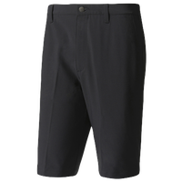 adidas Ultimate 365 Solid Golf Shorts - Men's - All Black / Black