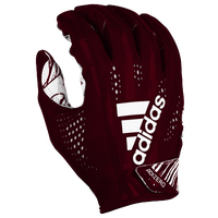 adidas Adizero 5-Star 7.0 Receiver Gloves - Men's - Maroon / White
