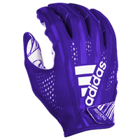 adidas Adizero 5-Star 7.0 Receiver Gloves - Men's - Purple / White