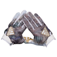 adidas 5-Star Uncaged Receiver Gloves - Men's - White / Gold