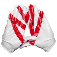 adidas adiZero 5-Star 4.0 Receiver Gloves - Men's - White / Red