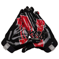 adidas adiZero 5-Star 4.0 Receiver Gloves - Men's - Black / Red