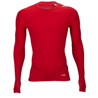 adidas Techfit Compression Longsleeve Top - Men's - Red / Red