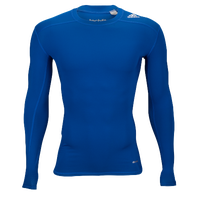 adidas Techfit Compression Longsleeve Top - Men's - Blue / Blue