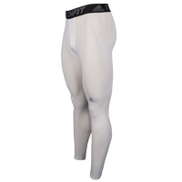 adidas Techfit Compression Tights - Men's - White / Black