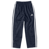adidas Tricot Pants - Boys' Preschool - Navy / Gold
