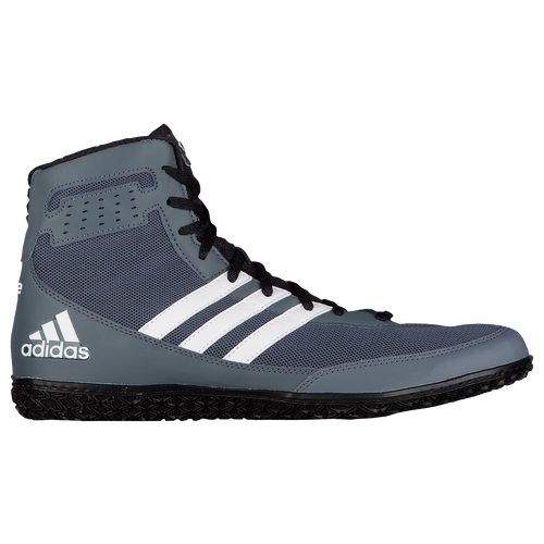 adidas Mat Wizard - Men's - Wrestling - Shoes - Grey/Black/White