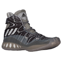 adidas Crazy Explosive - Men's - Grey / White