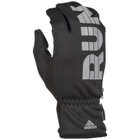 adidas AWP Run Mitt Gloves - Women's - Black / Grey