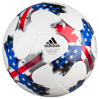 adidas MLS Glider Soccer Ball - White / Red
