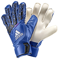 adidas Jr. Fingersave GK Gloves - Youth - Blue / Black
