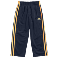 adidas Tricot Pants - Boys' Toddler - Navy / Gold