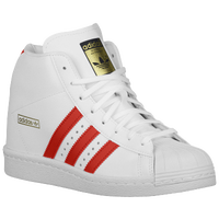 adidas Originals Superstar Up - Women's - White / Red