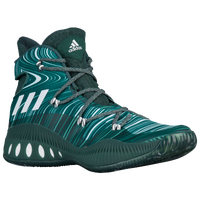 adidas Crazy Explosive - Men's - Dark Green / Green