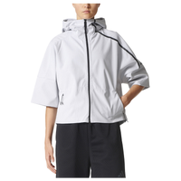 adidas Athletics ZNE 90/10 Hoodie - Women's - White / Black