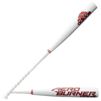 adidas Aeroburner Comp BBCOR Baseball Bat -3 - Men's - White / Red