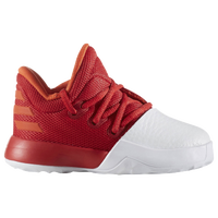 adidas Harden Vol. 1 - Boys' Toddler -  James Harden - White / Red