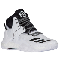 adidas D Rose 7 - Men's -  Derrick Rose - White / Black