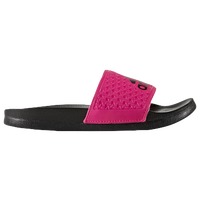 adidas Adilette - Girls' Grade School - Black / Pink