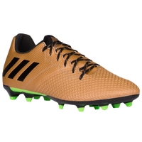 adidas Messi 16.3 FG/AG - Men's - Brown / Black