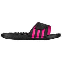 adidas Adissage - Women's - Black / Pink