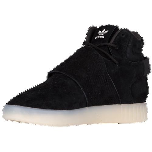 BLK Men's adidas Originals Tubularunner Casual Shoes Black/Black/Black