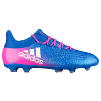 adidas X 16.2 FG/AG - Men's - Light Blue / Pink