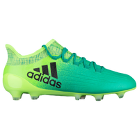 adidas X 16.1 FG/AG - Men's - Light Green / Black