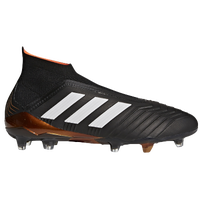 adidas Predator 18+ FG - Men's - Black / White