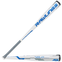 Rawlings Velo BBCOR Baseball Bat - Men's - White / Blue