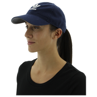 adidas Originals Relaxed Strapback Hat - Women's - Navy / White