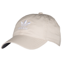 adidas Originals Relaxed Strapback Hat - Women's - Off-White / White