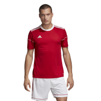 adidas Team Squadra 17 Short Sleeve Jersey - Men's - Red / White