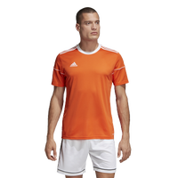 adidas Team Squadra 17 Short Sleeve Jersey - Men's - Orange / White