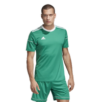 adidas Team Squadra 17 Short Sleeve Jersey - Men's - Green / White