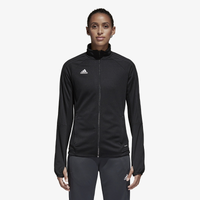 adidas Tiro 17 Jacket - Women's - All Black / Black