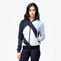 adidas Originals EQT Track Top - Women's - Black / White