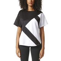 adidas Originals EQT Short Sleeve Top - Women's - Black / White