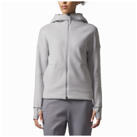 adidas Athletics ZNE 2.0 Pulse Full-Zip Hoodie - Women's - Grey / Grey