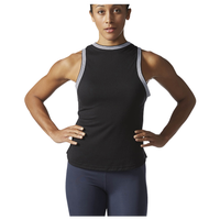 adidas Athletics Show Your Stripes Ringer Tank - Women's - Black / White