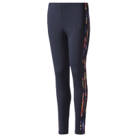 adidas Originals Rose Leggings - Girls' Grade School - Navy / Multicolor