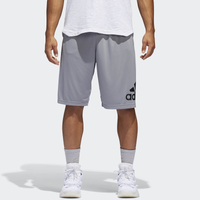 adidas Crazylight Shorts - Men's - Grey / Black